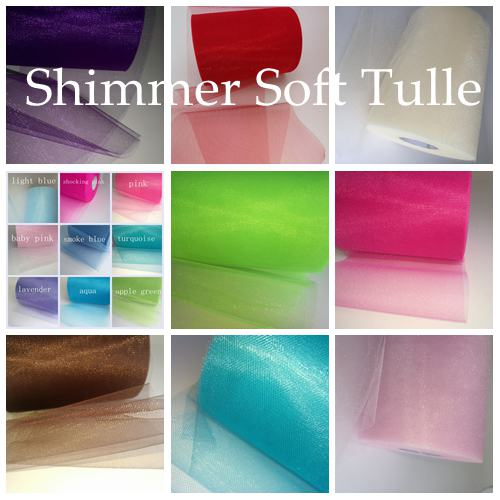 Shimmer Tulle 25 Y From £ 1.08 Per Roll